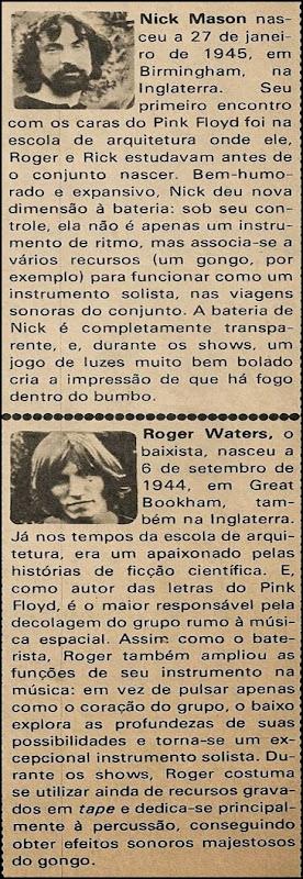 Pink Floyd, Uma fantástica viagem pelas galáxias - Pop 1974-10 - 03