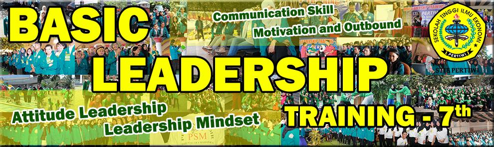 Basic Leadership Training STIE Pertiwi