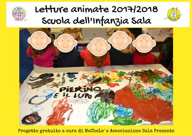 Letture animate 2017-2018 alla Scuola dell'Infanzia di Sala – 3 anni (0)