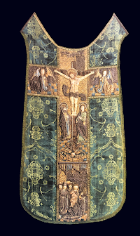 Raised Embroidered Chasuble of the Late Fifteenth Century