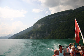 Sailing on Lake Thun