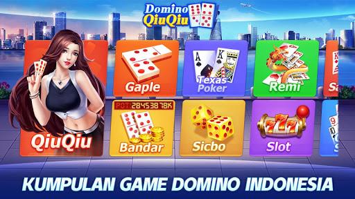 Domino QiuQiu 2020 - Domino 99 u00b7 Gaple online apkdebit screenshots 1