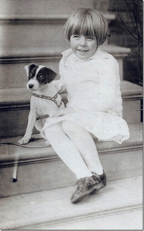 MILNE_Patricia with her little dog