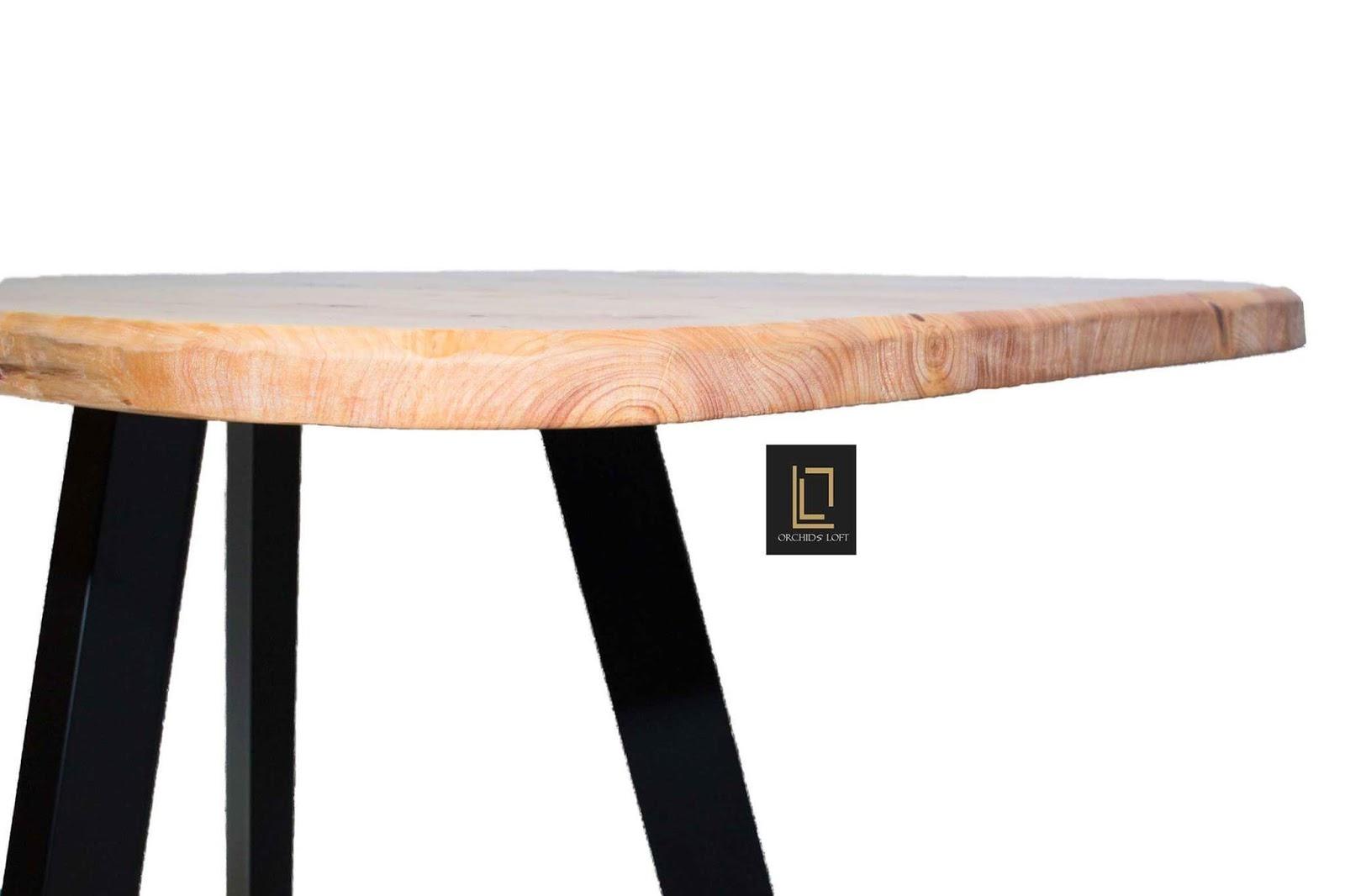 orchids loft roots table wood table holztische. Black Bedroom Furniture Sets. Home Design Ideas
