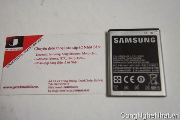 Pin cho điện thoại SamSung Galaxy S 2