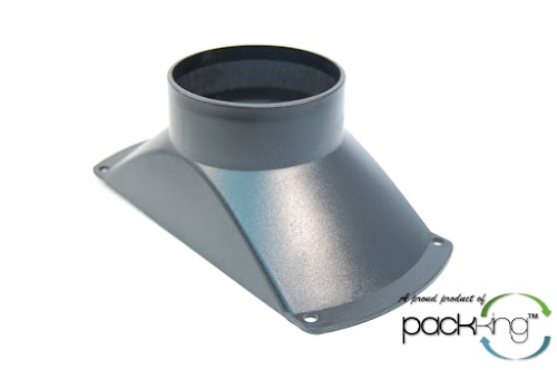 Industrial Dust Hood : Mini dust hood flange port collection vacuum for