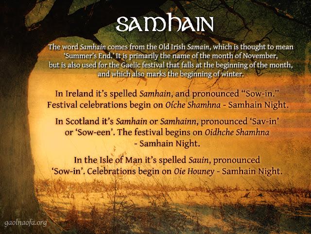 Samhain information meme