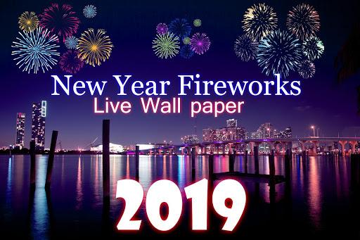 2019 New Year Fireworks Live Wallpaper 1.0.10 screenshots 9