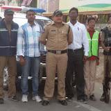 Traffic awareness programme in santhosh nagar branch
