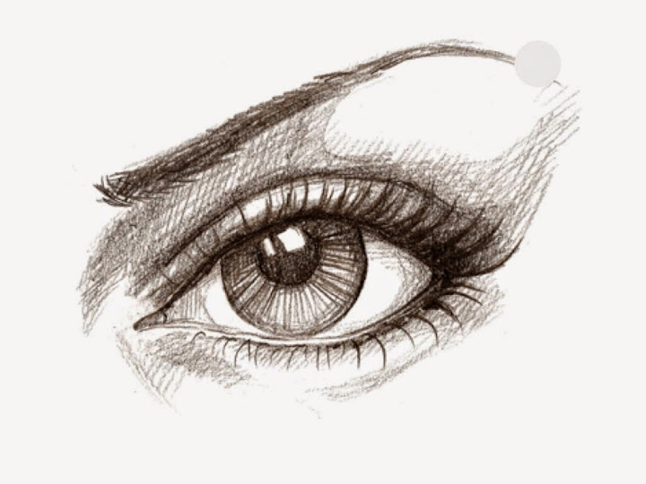 Eye made with Sketches