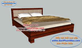 Giường ngủ bọc nệm đầu giường