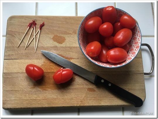 Pomodorini a forma di cuore2