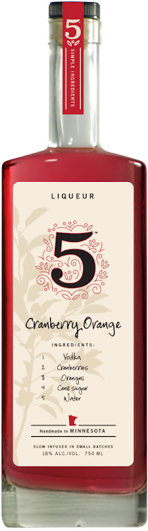 Logo for 5 Infused Cranberry-Orange Liqueur