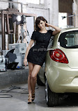 Olga Kurylenko Car ads photography