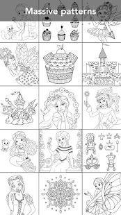 Princess coloring book 2