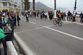 22e Grand prix national cycliste d'Oran: Abdelbasset Hannachi et Assal Mohamed vainqueurs de la 2ème étape