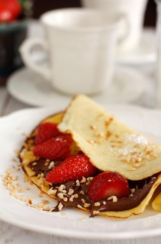 Ingrediente Nutella - Crepes Nutella e Nocciole