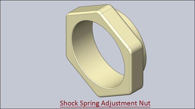 Shock Spring Adjustment Nut