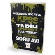 Pelikan Yayınları KPSS Tarih Mükremin Hocayla Soru Avı 101 Çözümlü Soru Full Tekrar