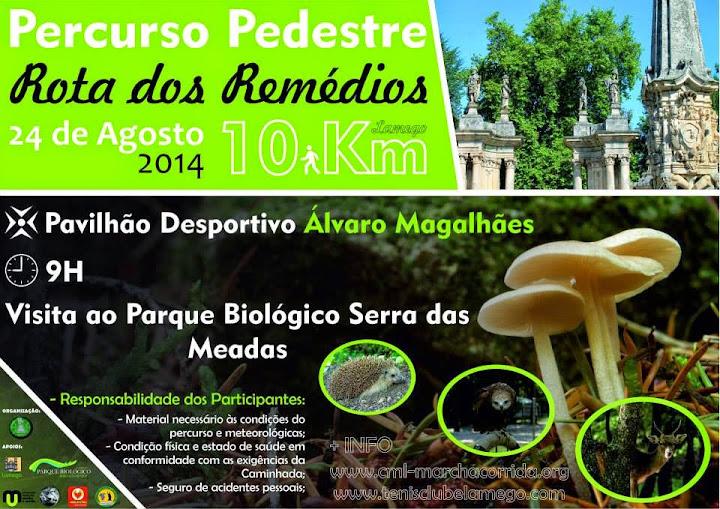 Percurso Pedestre - Rota dos Remédios - 24 de agosto de 2014 - Fotos