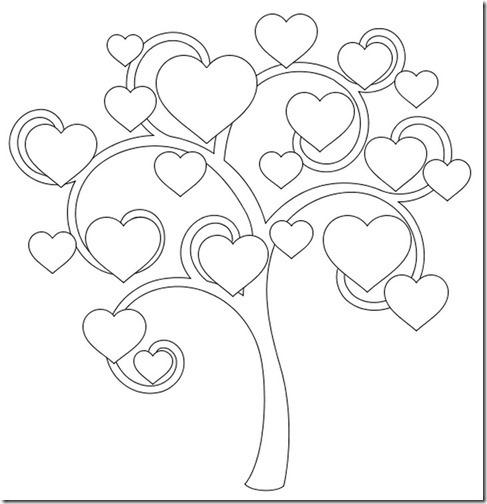 arbol de corazones blogcolorear (16)