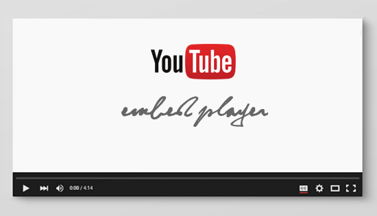 Customize YouTube Embed Player