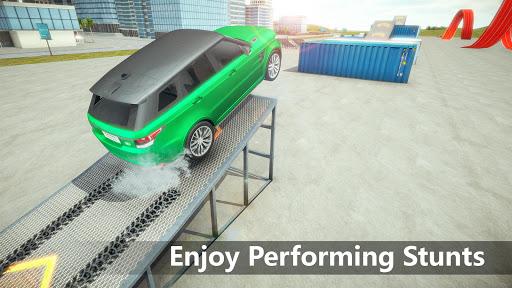 Crazy Car Driving & City Stunts: Range Rover Sport  captures d'écran 2