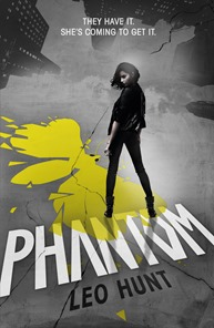 Phantom by Leo Hunt cover