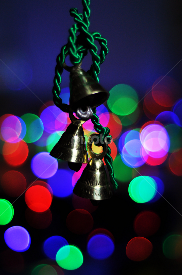 bells by Angelito Cortez - Artistic Objects Other Objects ( lights, ribbon, christmas, bells, pwcbells )