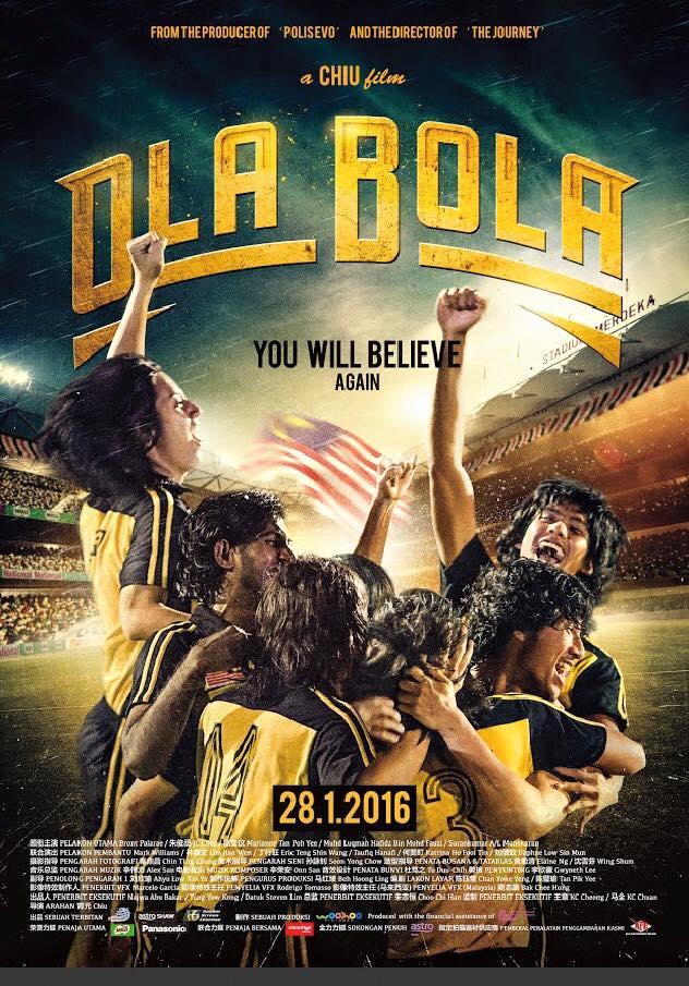 Filem Review : Ola Bola TERBAIK!!!