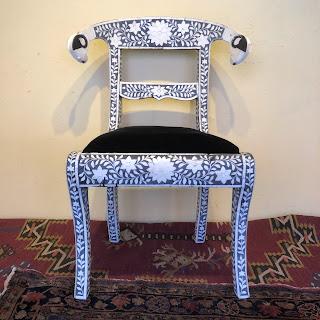 Nadeau Bone Inlaid Chair