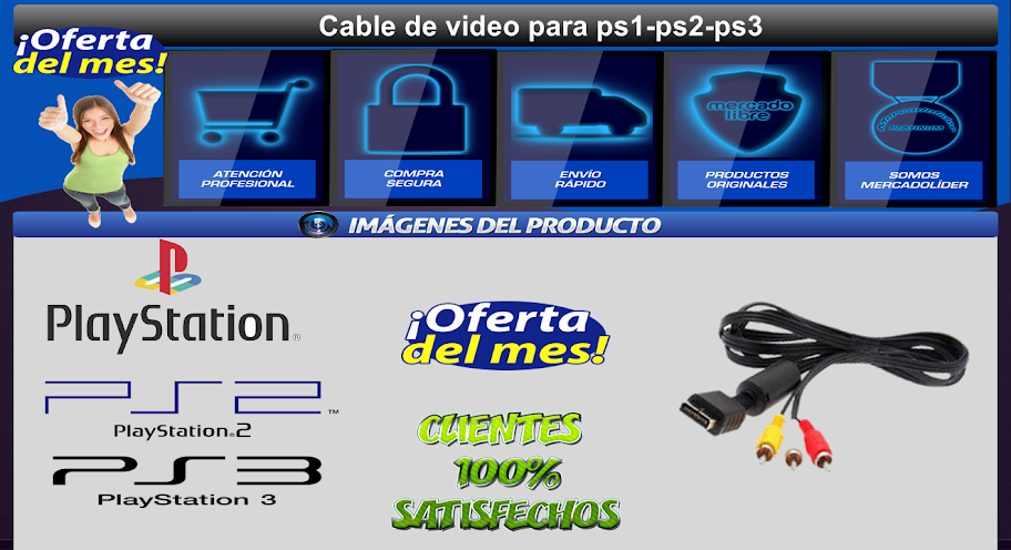 cable playsation 2