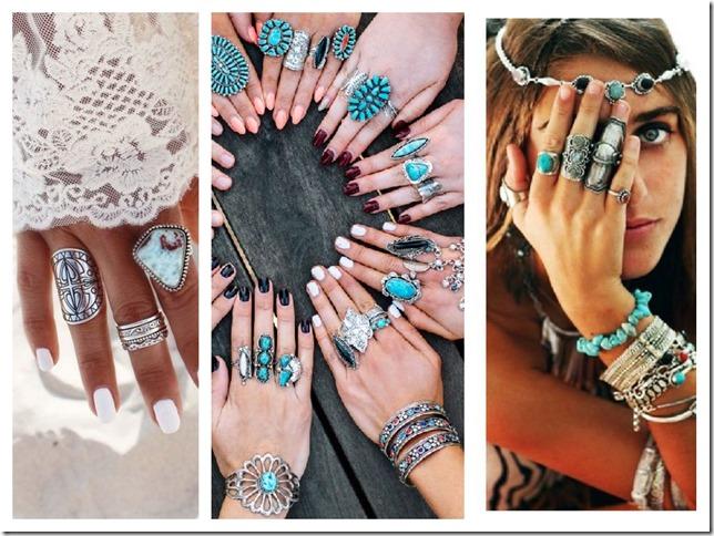 boho rings buy