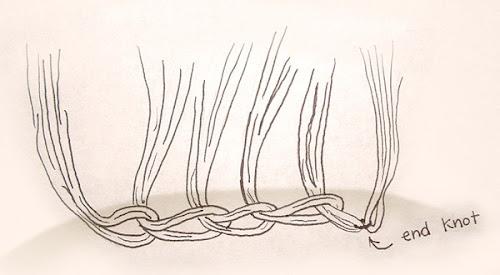 a costura de cabelo perfeita