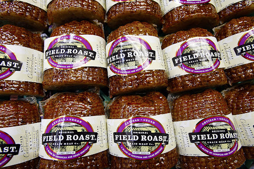 Vegan Field Roast, made in Seattle [Seattle Times/Courtney Blethen Rifkin]
