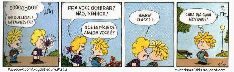 Clube da Mafalda: Tirinha 596