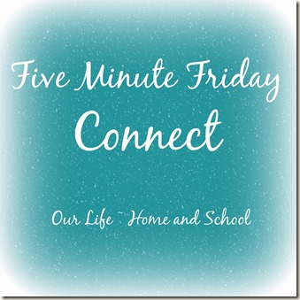 Five Minute Friday - Connect