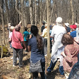 60 people attend the Spring Nature Walk, 2016