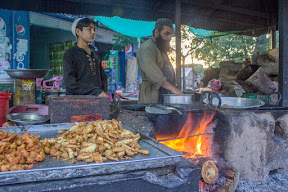 If you visit ILAYSI Masjid, you must try these Pakoras, There are number of stall of Pakoras near the Masjid, Abottabad