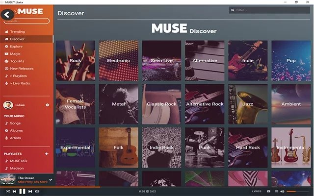 MUSE - unlimited, Free Music