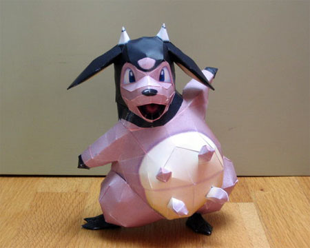 Pokemon Miltank Papercraft