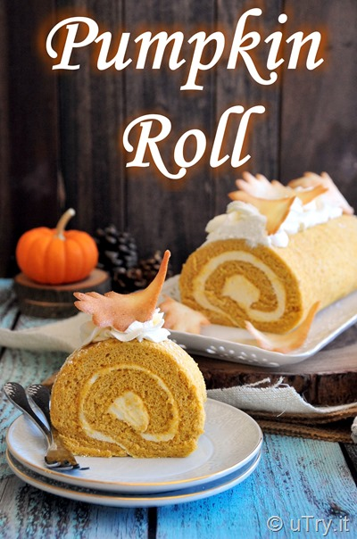 How to Make Pumpkin Roll Cake with Cream Cheese Filling   http://uTry.it