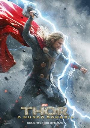 Filme Poster Thor: O Mundo Sombrio TS VERSÃO 2 XviD & RMVB Dublado