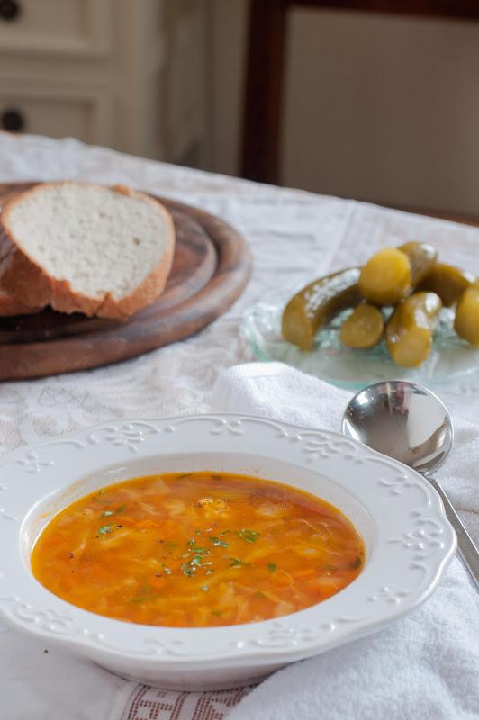 lentil and cabbage soup