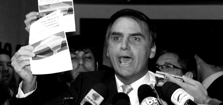 Bolsonaro contra cartilha anti homofobia