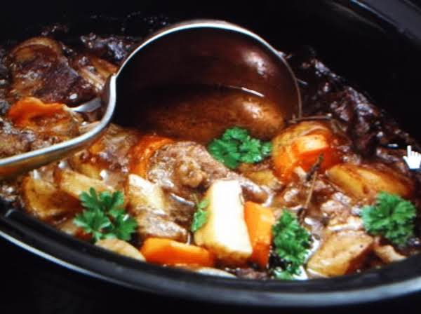 Traditional Beef Stew Eddie Style