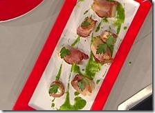 Bocconcini di pollo con speck e gorgonzola
