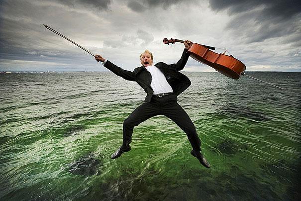 не класически фотографии на класически музиканти