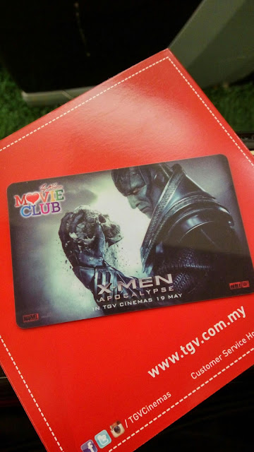 TGV Movie Club Card
