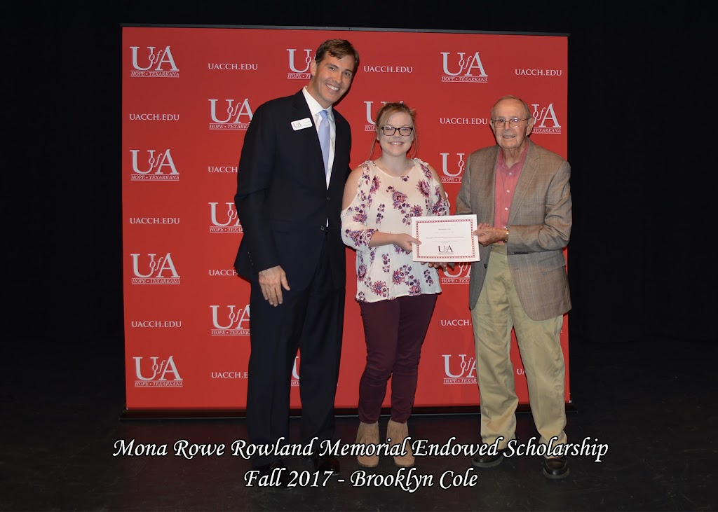 Fall 2017 Foundation Scholarship Ceremony - Mona%2BRowe%2BRowland%2BMemorial.jpg